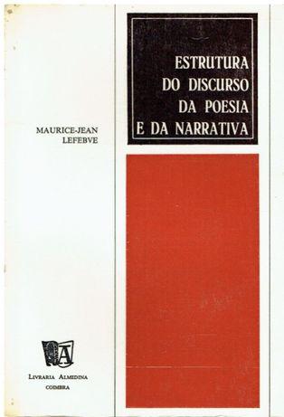 7830 Estrutura do Discurso da Poesia e da Narrativa de Maurice Jean