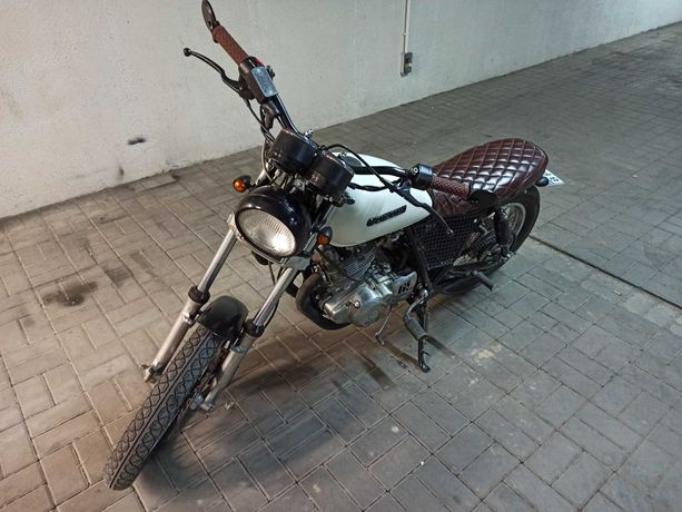 Suzuki Gn 250 caferacer