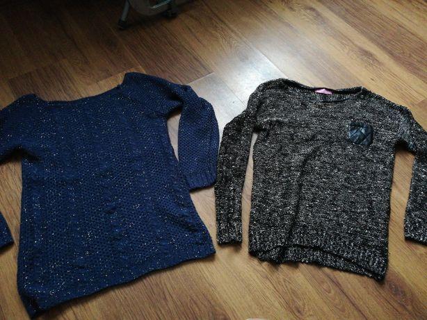 Swetry z błyszcząca nitka 2 za 20 zł wysyłka gratis