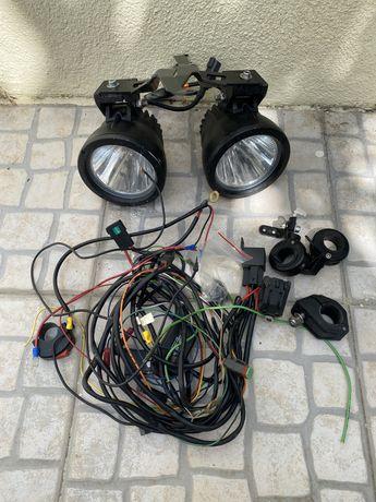 Luzes Auxiliares para moto Cyclopes ktm bmw gs honda yamaha