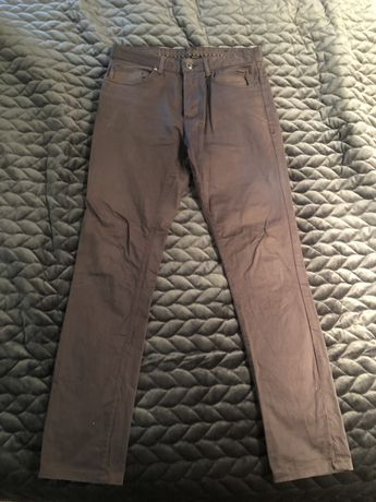 Ciemnoszare/grafitowe spodnie ZARA roz.30