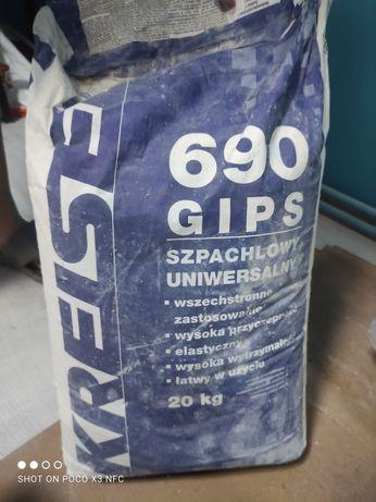Gips szpachlowy 20 kg