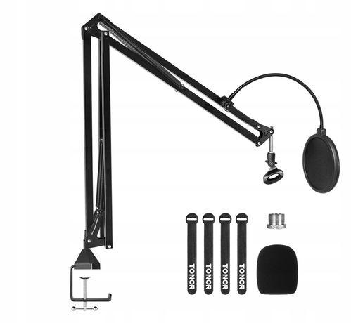 Profesjonalny statyw do mikrofonu Tonor T30