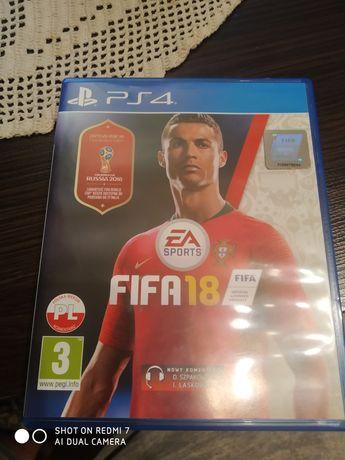 FIFA 18 na konsole PS4