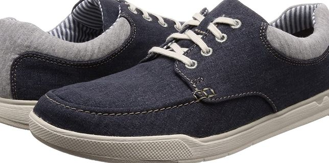 buty clarks step isle lace derbys / lekkie półbuty r.40
