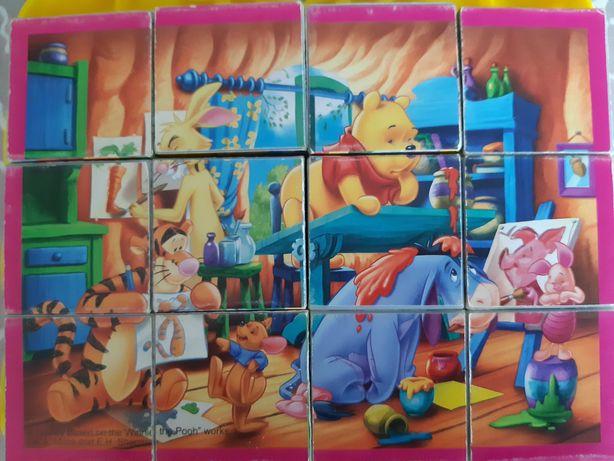 Puzzle Kubuś Puchatek