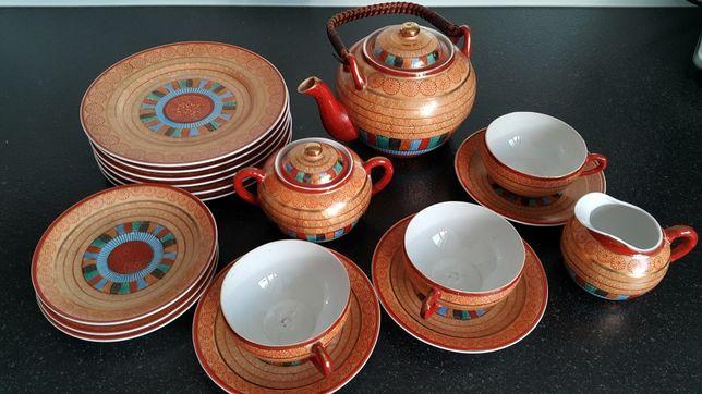 Japonia, Kutani, serwis porcelanowy
