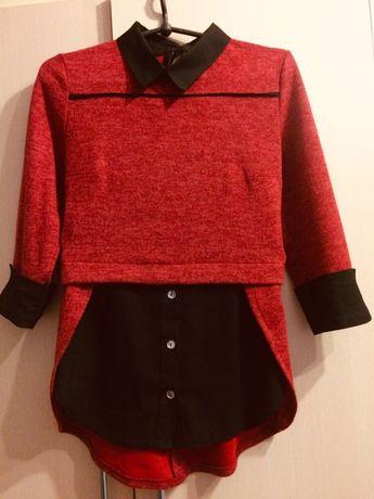 Продам нарядную, красную,кофточку, блузку