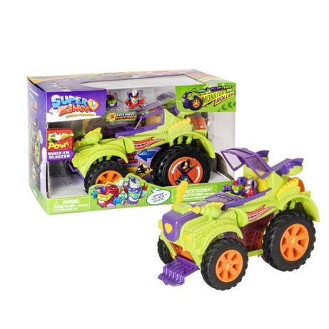 Superzings Monster Roller Camião Trator com 2 Superzings NOVO Limitado