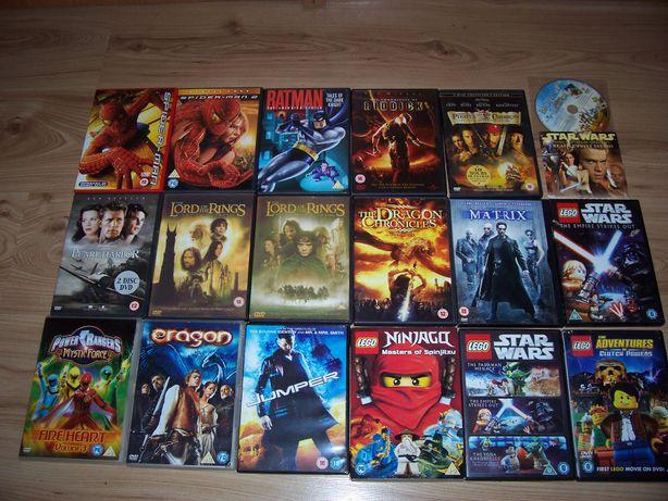 Filmy: Władca pierścieni, jumper, kroniki riddicka, spider-man 2 itp