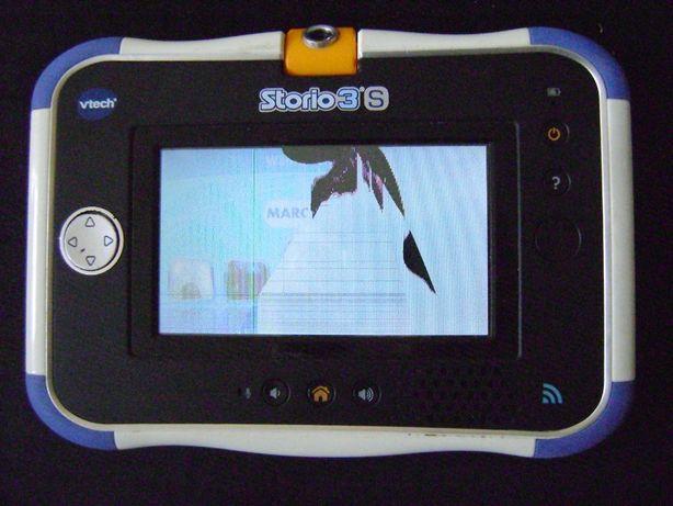 tablet vtech v-tech storio 3 s wyświetlacz uszk