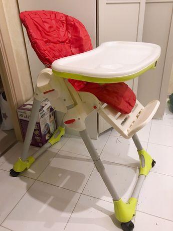 Детский стульчик стол chicco polly