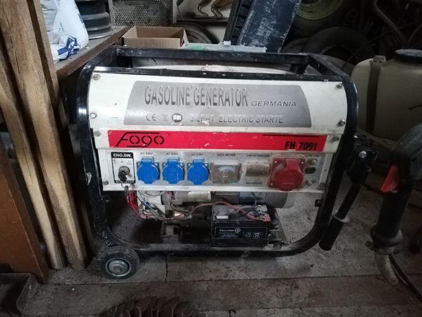 agregat prądotwórczy elektryczny start