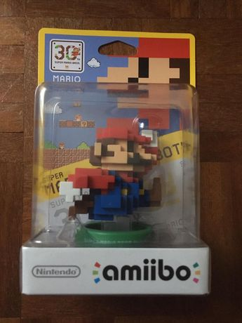Amiibo 30 anos Super Mario Bros. selada