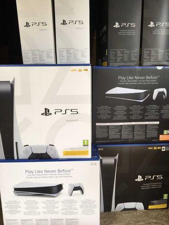 Приставка Sony PlayStation 5 825GB дисковая версия PS5 В НАЛИЧИИ! EU