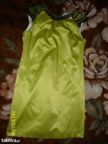 Sukienka seledynowa 40