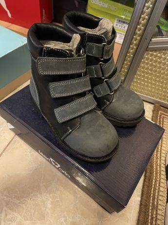 Ортопедические ботинки зима 27р стелька 18 см