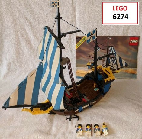 LEGO Pirates Classic (3 sets): 6274; 6232; 6258