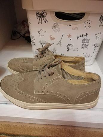 Туфли мужские, кожа