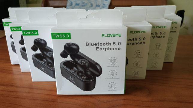 FLOVEME Mini TWS Bluetooth 5,0 беспроводные наушники