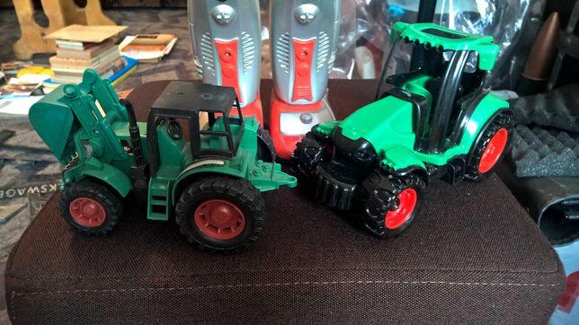 Robot duży sprawny gratis traktorki