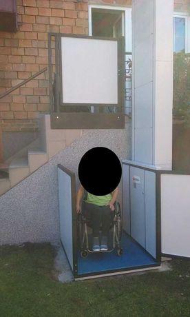 Winda platfoma dla niepełnosprawnych