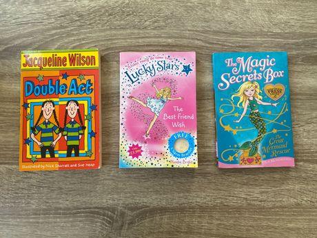 Zestaw 3 książki po angielsku dla dzieci