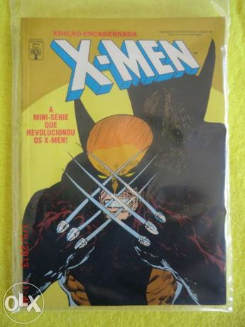 "Vendo revista da bd marvel  "" x-men minie serie encadernada"