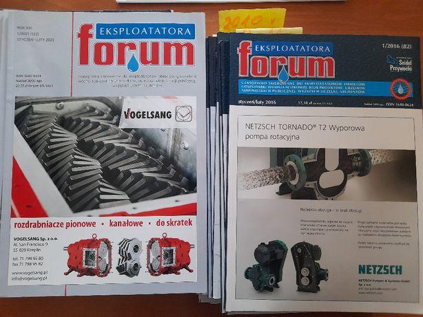 Oczyszczanie ścieków forum 90szt. egzemplarzy od 2001r do dziś