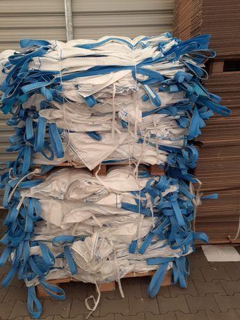 Worki big bag używane z fartuchem 1000 kg 93x95x190 cm