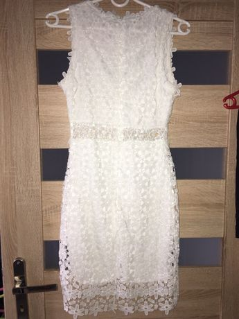 Biała sukienka, sprzedam