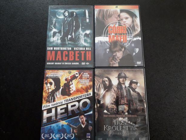 Filmy dvd macbeth, hero Wyprzedaż cena za zestaw