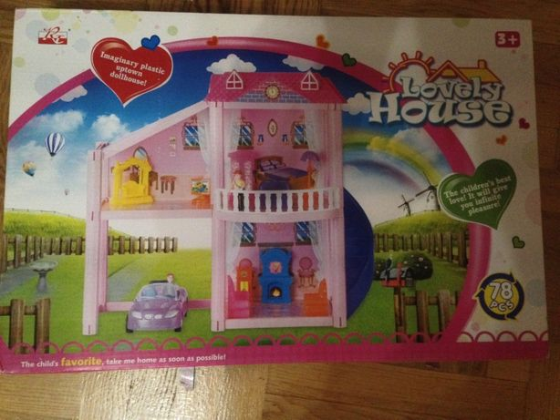 Міні будиночок для ляльки