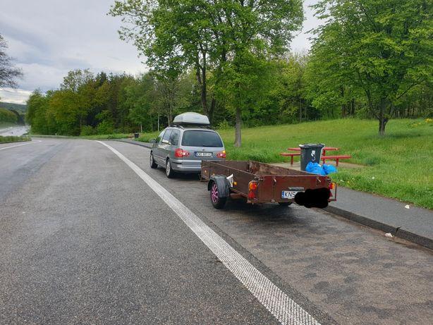 Przyczepa ciężarowa 300×125