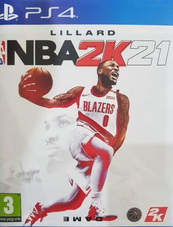 NBA 2K21 PS4 PlayStation 4 Używana Kraków