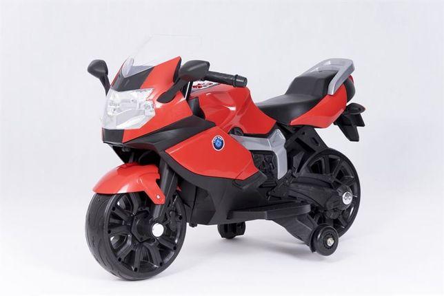 Motorek motor na akumulator dla dzieci czerwony