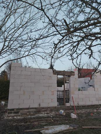 Budowa Domów 35m, Ściany Działowe, Ocieplenie Dachu