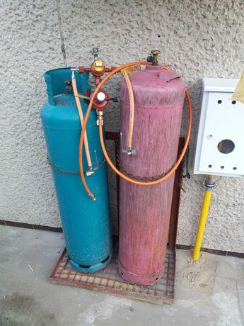 Instalacja GOK + 2 butle gazowe 33kg  Propan Butan