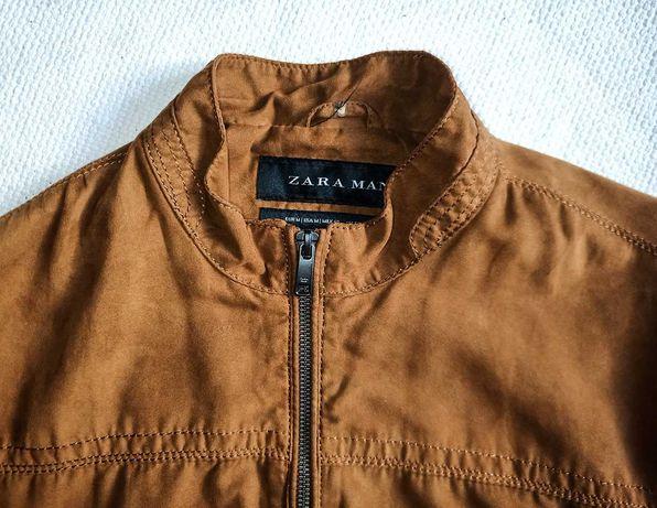 Blusão estilo bomber Zara