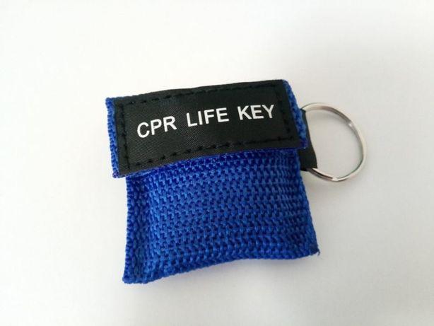CPR LIFE KEY - Máscara de bolso para reanimação cardiorrespiratória