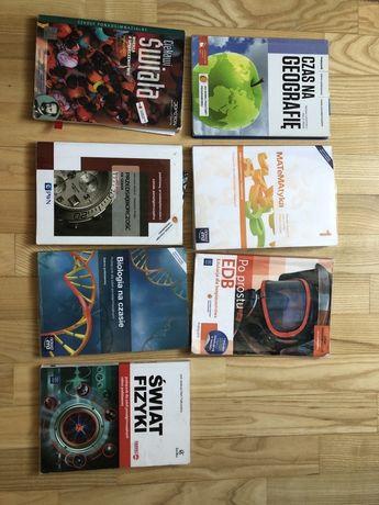 Podręczniki szkolne do liceum fizyka wos geografia biologia