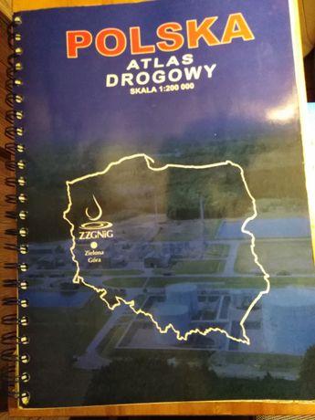Polska Atlas Drogowy Mapa Drogowa