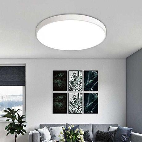 Lampa sufitowa plafon nowoczesny biały LED IP44