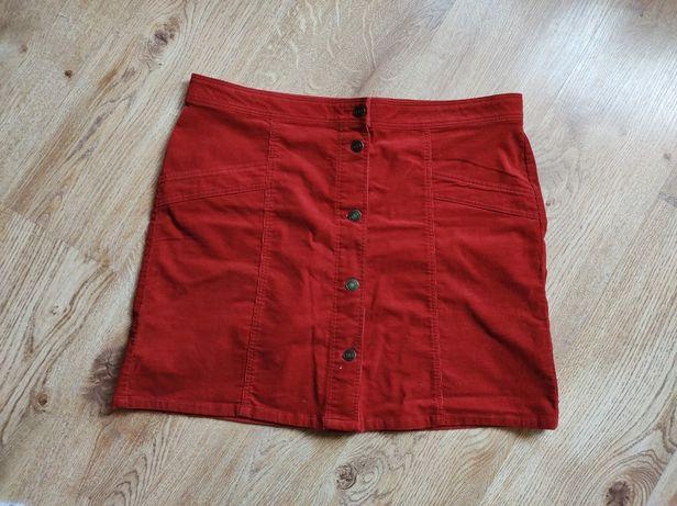Czerwona spódniczka xl