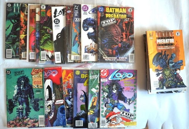 Top Komiks Tm semic Fun Media Lobo Batman... na sztuki wysyłka