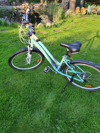 rower kross 24 cale miętowy kolor