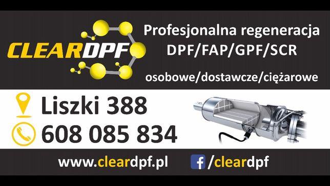 Regeneracja DPF/FAP/GPF/SCR od 349zl