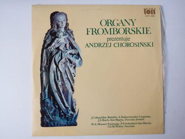 """""""Organy Fromborskie prezentuje Andrzej Chorosiński"""" płyta winylowa"""