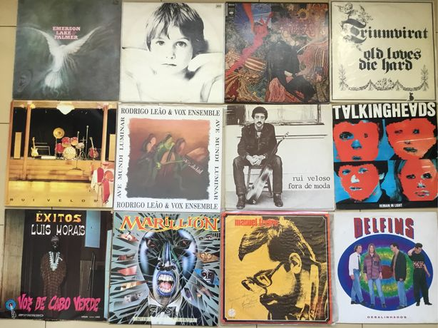 Discos de vinil U2,Delfins,Talking Heads