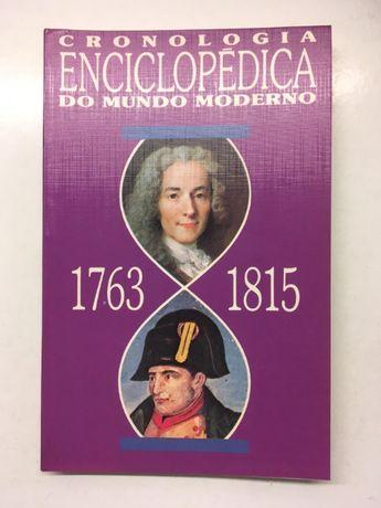 Livro - Cronologia Enciclopédica do Mundo Moderno (1763 a 1815)
